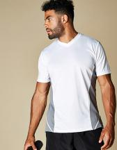 Men`s Regular Fit Team Top V Neck Short Sleeve