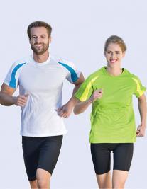 Contrast Technical Unisex T-Shirt